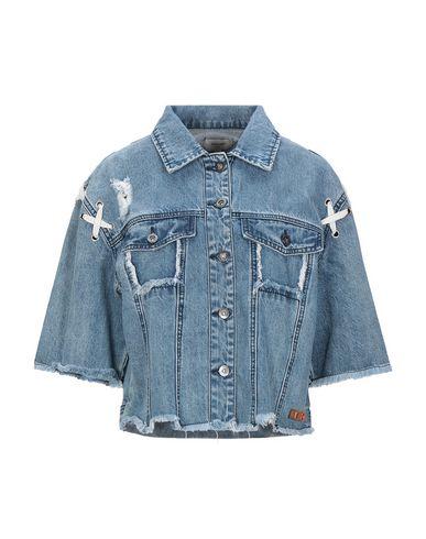 Фото - Джинсовая верхняя одежда от KORALLINE синего цвета