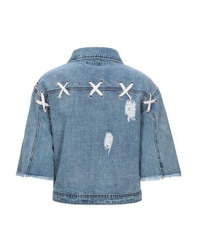 Фото 2 - Джинсовая верхняя одежда от KORALLINE синего цвета