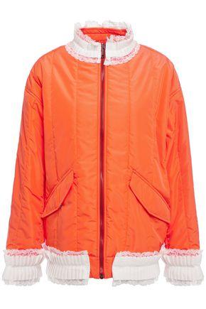 MM6 MAISON MARGIELA Lace-trimmed shell jacket