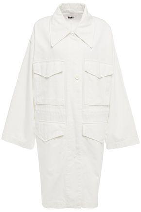 MM6 MAISON MARGIELA Oversized button-embellished cotton jacket