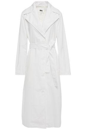 MM6 MAISON MARGIELA Belted cotton-poplin trench coat