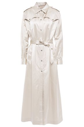 MM6 MAISON MARGIELA Cotton-blend satin trench coat