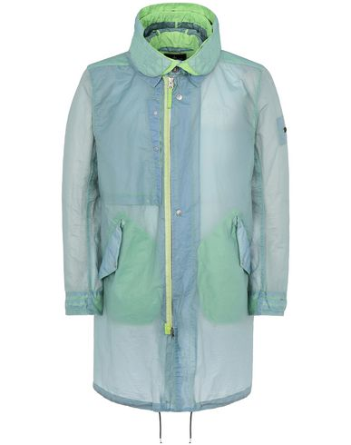 STONE ISLAND SHADOW PROJECT 70105 FISHTAIL PARKA LONG JACKET Man Light Green EUR 1086