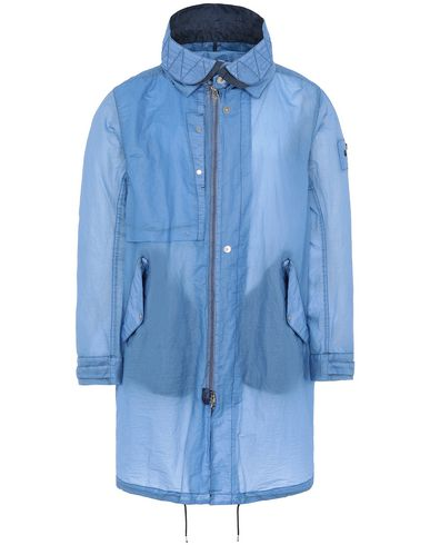 STONE ISLAND SHADOW PROJECT 70105 FISHTAIL PARKA LONG JACKET Man Blue EUR 1130