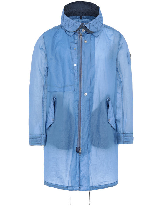 STONE ISLAND SHADOW PROJECT 70105 FISHTAIL PARKA LONG JACKET Man Blue