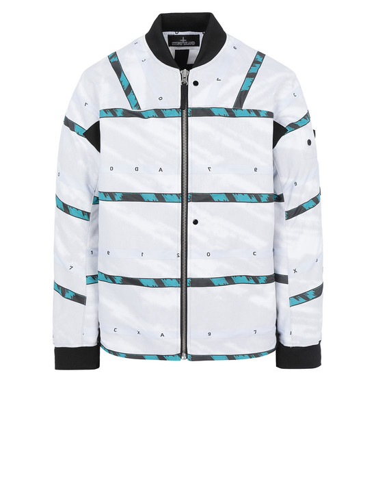 STONE ISLAND SHADOW PROJECT 40812 BOMBER JACKET Jacket Man White