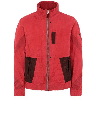 STONE ISLAND SHADOW PROJECT 40403 ARTICULATED JACKET Giubbotto Uomo Rosso EUR 875