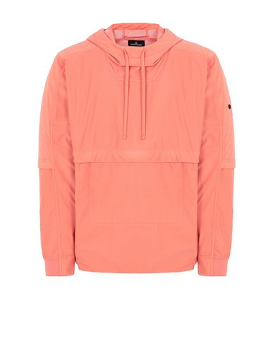 STONE ISLAND SHADOW PROJECT 40504 PACKABLE ANORAK Jacket Man Salmon pink USD 448