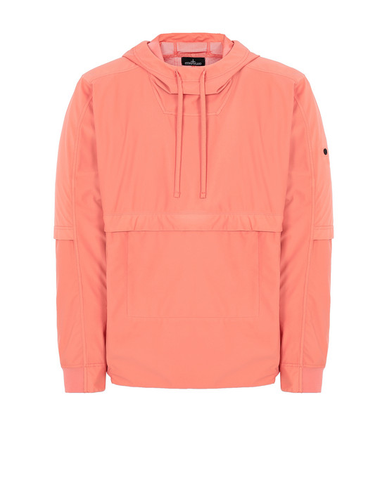 STONE ISLAND SHADOW PROJECT 40504 PACKABLE ANORAK Jacket Man Salmon pink