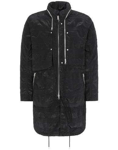 STONE ISLAND SHADOW PROJECT 70401 FISHTAIL PARKA LONG JACKET Man Black EUR 1113