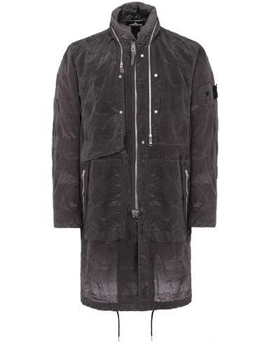 STONE ISLAND SHADOW PROJECT 70401 FISHTAIL PARKA LONG JACKET Man Blue Grey EUR 1119