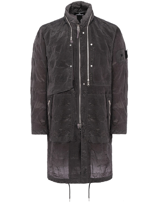 LONG JACKET Man 70401 FISHTAIL PARKA Front STONE ISLAND SHADOW PROJECT