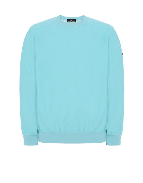 STONE ISLAND SHADOW PROJECT 40904 PACKABLE CREWNECK Jacket Man Aqua