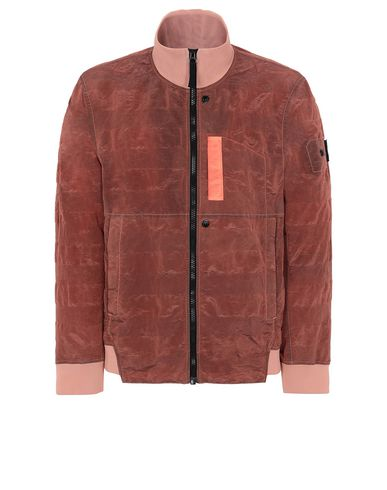 STONE ISLAND SHADOW PROJECT 40701 TRACK JACKET Jacket Man Salmon pink USD 658