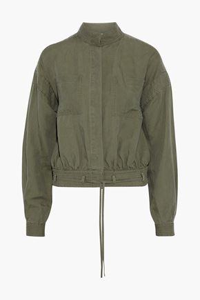 FRAME Linen-blend jacket
