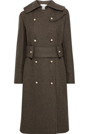 BA&SH Manteau Oger double-breasted wool-blend felt coat
