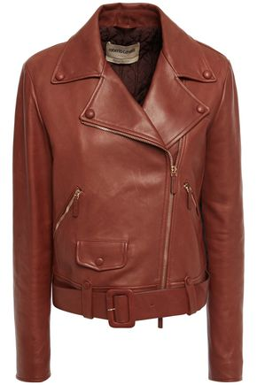 ROBERTO CAVALLI Leather biker jacket
