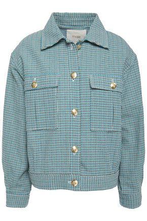 MAJE Cotton-tweed jacket