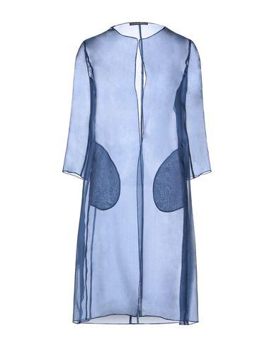 Фото - Легкое пальто от BOTONDI MILANO грифельно-синего цвета