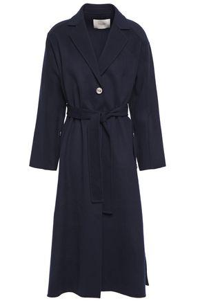 MAJE Wool-blend brushed-felt coat