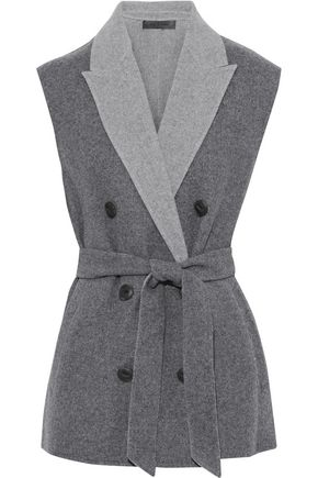 RAG & BONE Pearson double-breasted wool-blend felt vest