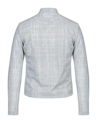 Фото 2 - Мужскую куртку GIORGIO BRATO светло-серого цвета