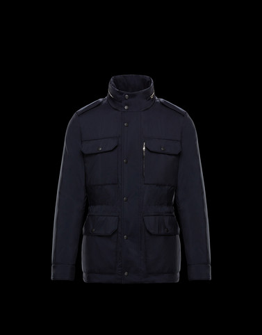 BAILLAURY Dark blue View all Outerwear Man