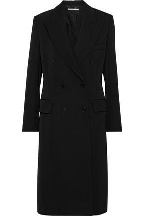 STELLA McCARTNEY Nathaly double-breasted wool-gabardine coat