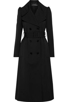 STELLA McCARTNEY Kristen wool-gabardine trench coat