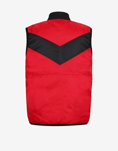Reversible padded boys' gilet with Thermo Tech system