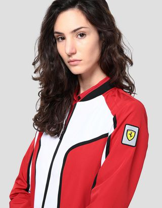 Scuderia Ferrari Online Store - Women's Infinity bomber with Climafit - Bombers & Track Jackets