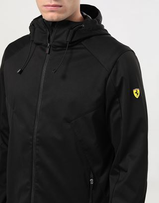 Scuderia Ferrari Online Store - Men's Softshell jacket with Fit System - Bombers & Track Jackets