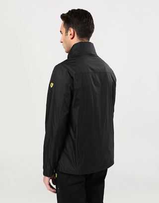 Scuderia Ferrari Online Store - Men's packable rain jacket - Raincoats
