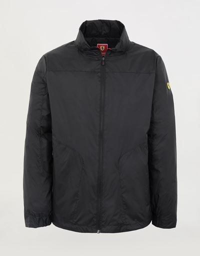 Men's packable rain jacket