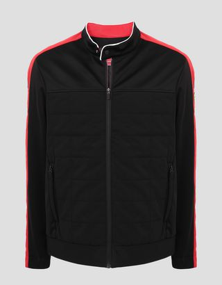 Scuderia Ferrari Online Store - Men's Driver Jacket in Softshell with H-Free System - Bombers & Track Jackets