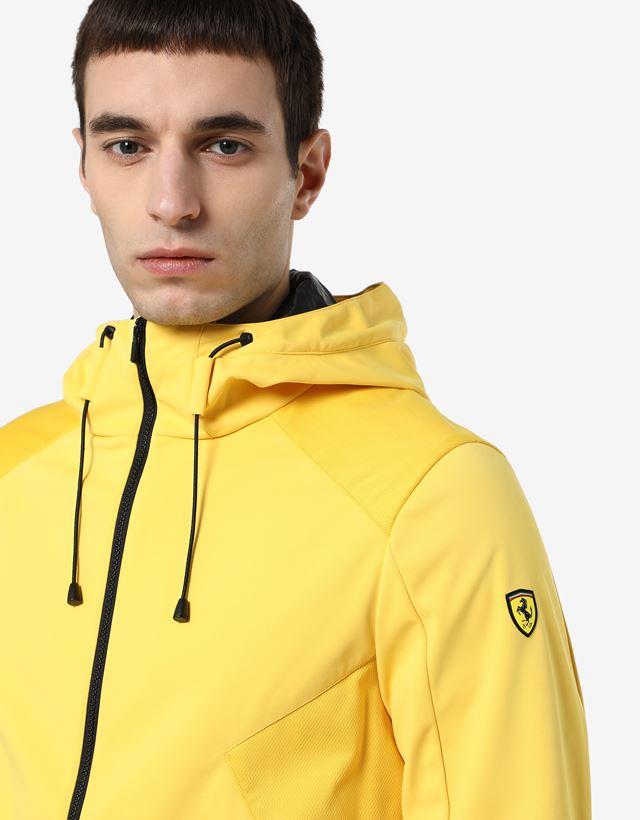 Scuderia Ferrari Online Store - Chaqueta para hombre de Softshell con Fit System - Chaquetas bómber y de chándal