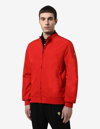 Scuderia Ferrari Online Store - Men's jacket in T3 Lami-Tech with H-Free system - Bombers & Track Jackets