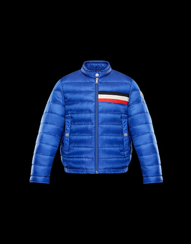 YERES Blue Category Bomber Jacket Man