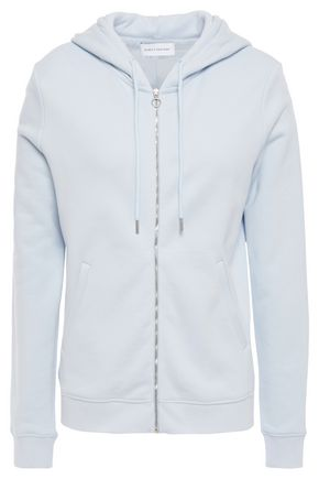 NINETY PERCENT French cotton-terry hoodie