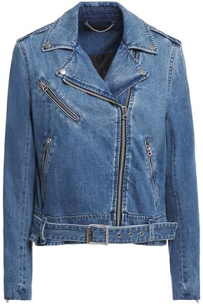 RAG & BONE Denim biker jacket