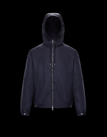 ORNE Dark blue Category Jackets Man
