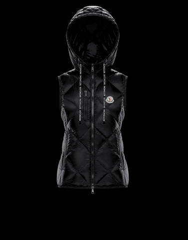 SUCREX Black Category Waistcoats Woman
