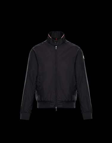 REPPE Black Category Windbreakers Man