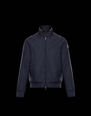 REPPE Dark blue Windbreakers Man