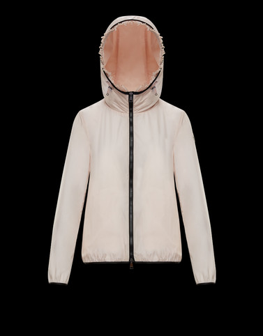 LAIT Light pink Category Windbreakers Woman