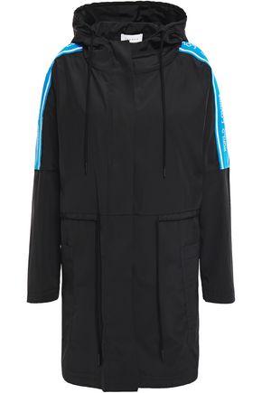 SANDRO Mario shell hooded raincoat