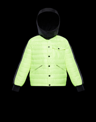 BOUZEY Acid green Category Outerwear Man