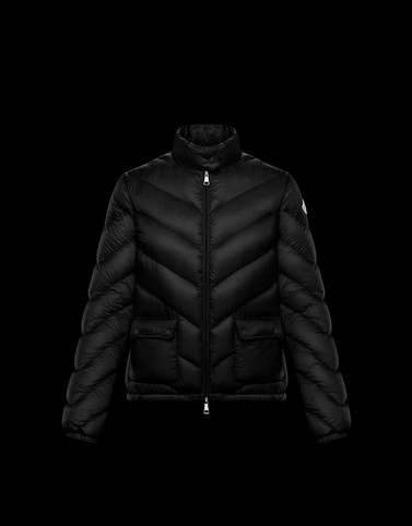 LANX Black Short Down Jackets Woman