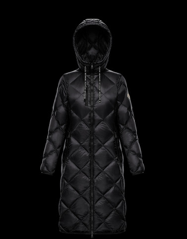 SUVEX Black Short Down Jackets Woman