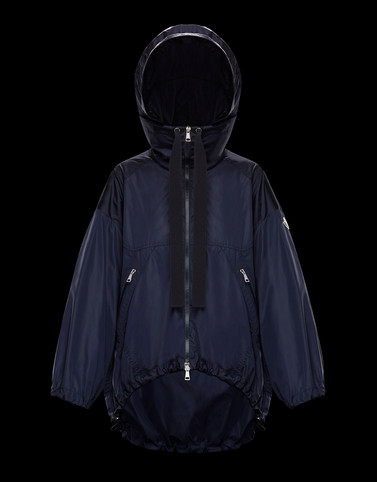 TERRE Dark blue View all Outerwear Woman